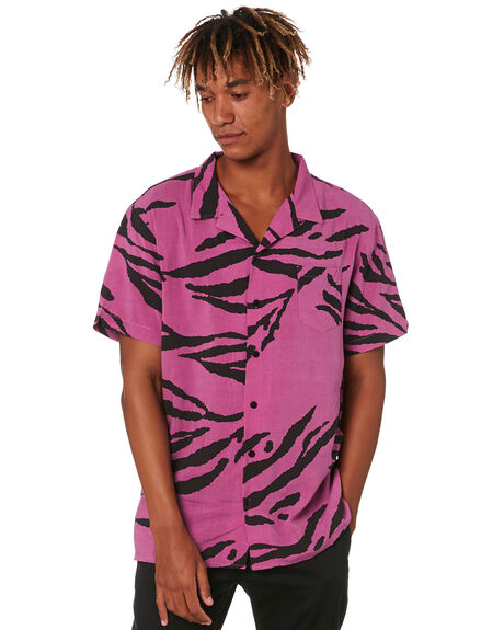 ORCHID MENS CLOTHING STAY SHIRTS - SSH-20101ORCHD