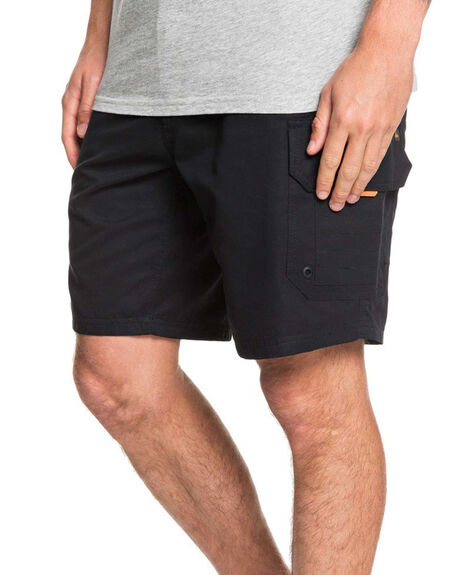 BLACK MENS CLOTHING QUIKSILVER SHORTS - EQMWS03112-KVJ0