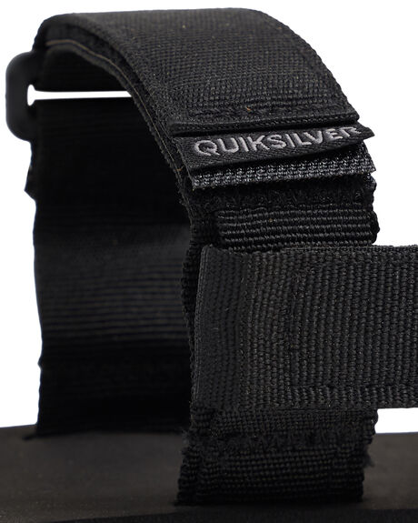 BLACK/GREY/BROWN MENS FOOTWEAR QUIKSILVER THONGS - AQYL100748-XKSC