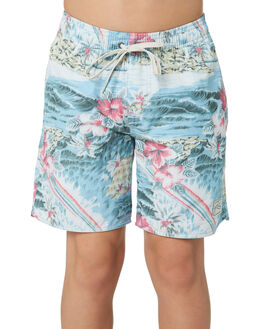 SEA BLUE KIDS BOYS RUSTY BOARDSHORTS - BSB0366SEA