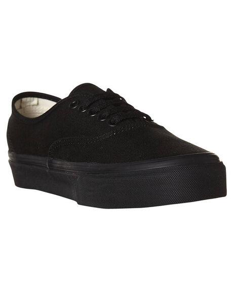 BLACK BLACK MENS FOOTWEAR VANS SKATE SHOES - SSVN-0EE3BKAM