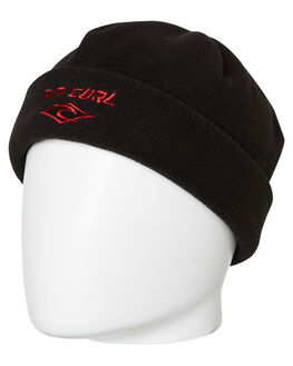 BLACK MENS ACCESSORIES RIP CURL HEADWEAR - CBNDV10090