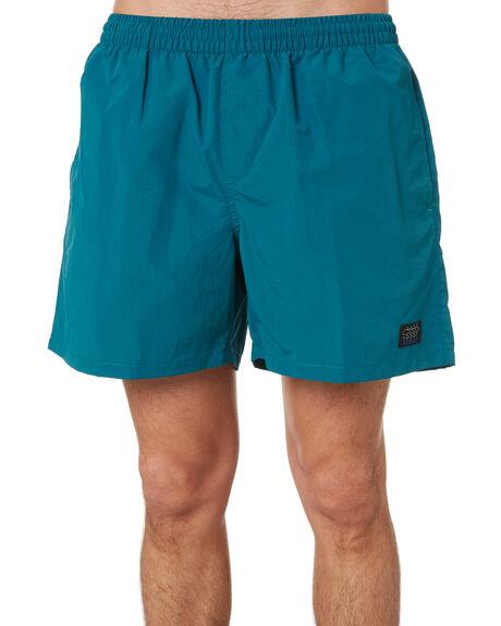 OCEAN GREEN MENS CLOTHING STUSSY BOARDSHORTS - ST001602OCGR