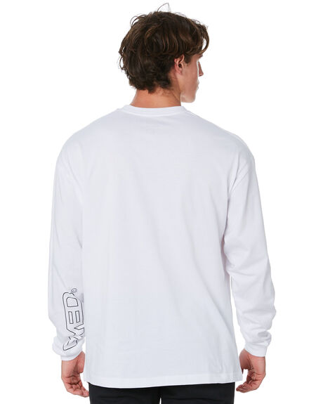 WHITE MENS CLOTHING DYED TEES - DY20ASDWHT