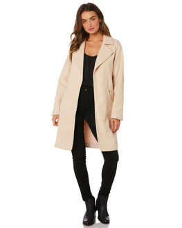 CREAM WOMENS CLOTHING ALL ABOUT EVE JACKETS - 6433025CRM