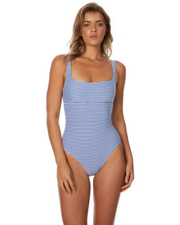 FRENCH BLUE WOMENS SWIMWEAR SEA LEVEL BY NIPTUCK ONE PIECES - SL1032SOBLU