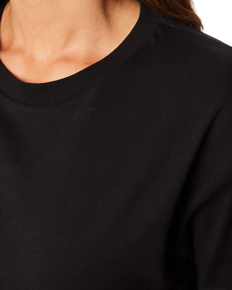BLACK WOMENS CLOTHING AS COLOUR TEES - 4062BLK