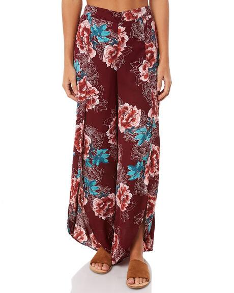 MAGENTA BLOOM WOMENS CLOTHING O'NEILL PANTS - 4723101-MGB