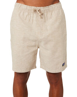 CHMBRAY MOJAVE KHAKI MENS CLOTHING PATAGONIA SHORTS - 58056CYMK