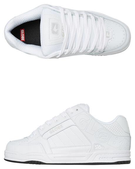 WHITE MENS FOOTWEAR GLOBE SNEAKERS - GBTILT11058