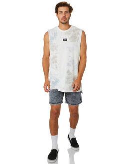 MILK CEMENT MENS CLOTHING ZANEROBE SINGLETS - 110-CONMLKCM
