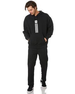 BLACK WHITE MENS CLOTHING ADIDAS JUMPERS - EC7322BLKWH