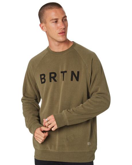 DUSTY OLIVE MENS CLOTHING BURTON JUMPERS - 20372100300DSTOL