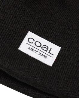 BLACK MENS ACCESSORIES COAL HEADWEAR - 221401BLK