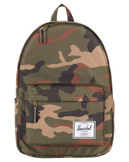 WOODLAND CAMO MENS ACCESSORIES HERSCHEL SUPPLY CO BAGS + BACKPACKS - 10492-00032-OSWOOD