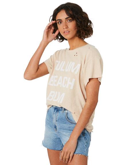 MOONSTONE WOMENS CLOTHING BILLABONG TEES - 6595130M0T
