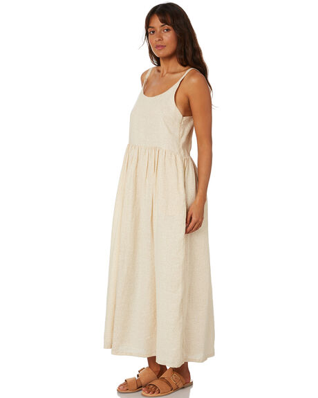 CREAM WOMENS CLOTHING ZULU AND ZEPHYR DRESSES - ZZ3221CRM