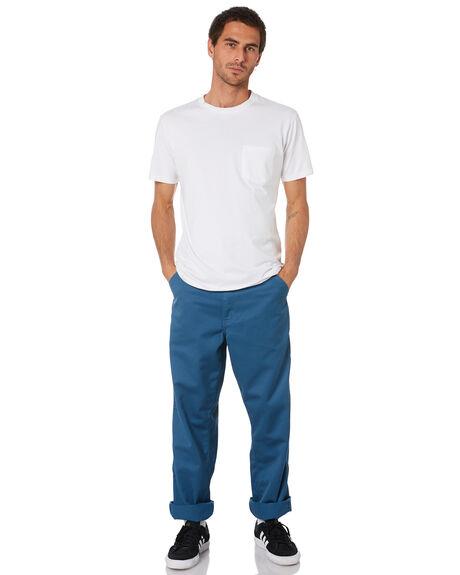 PRUSSIAN BLUE MENS CLOTHING CARHARTT PANTS - I020075-05IPRBLU