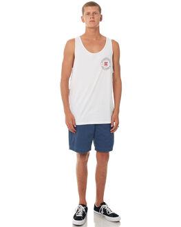 SNOW WHITE MENS CLOTHING DC SHOES SINGLETS - UDYZT03460WBB0