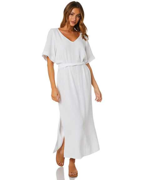 WHITE WOMENS CLOTHING RUSTY DRESSES - DRL1089WHT