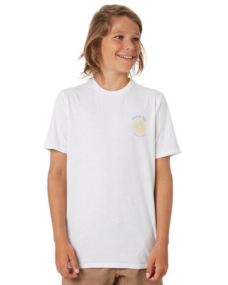 WHITE KIDS BOYS SWELL TOPS - S3203004WHITE