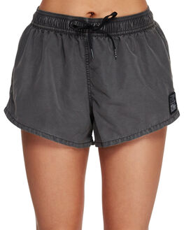 BLACK WOMENS CLOTHING BILLABONG SHORTS - BB-6591363-BLK