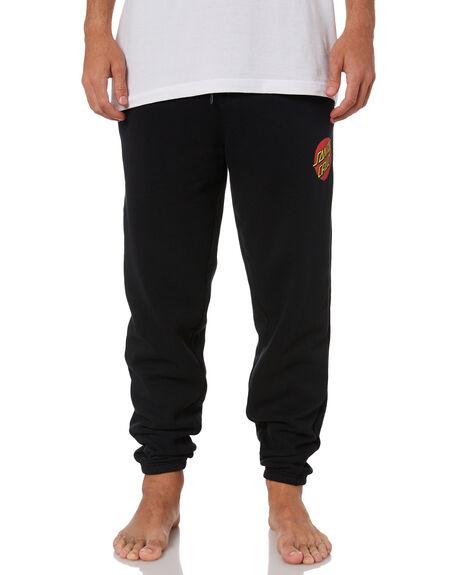BLACK MENS CLOTHING SANTA CRUZ PANTS - SC-MFN0848BLACK