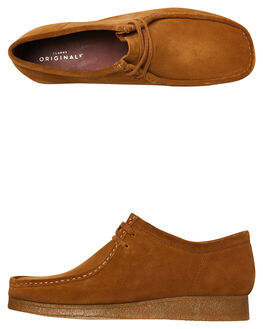 COLA SUEDE MENS FOOTWEAR CLARKS ORIGINALS BOOTS - SSWALLABEE_COLAM