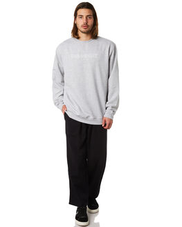 GREY HEATHER MENS CLOTHING PASS PORT JUMPERS - OFFICIALSCRGRYH