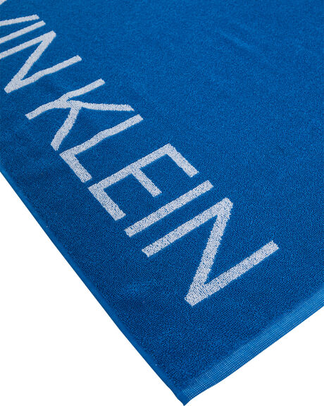 IMPERIAL BLUE WOMENS ACCESSORIES CALVIN KLEIN TOWELS - KU00025-412IMBLU