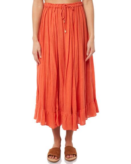 CARNELIAN WOMENS CLOTHING TIGERLILY SKIRTS - T381278CARN