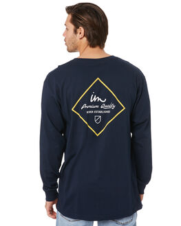 NAVY MENS CLOTHING IMPERIAL MOTION TEES - 201901003070NVY