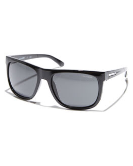 BLACK GREY MENS ACCESSORIES ARNETTE SUNGLASSES - AN4143-05