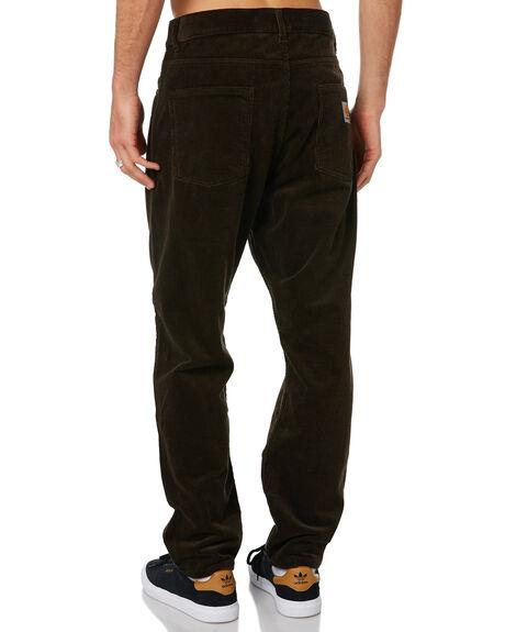 TOBACCO MENS CLOTHING CARHARTT PANTS - I027232-47TOB