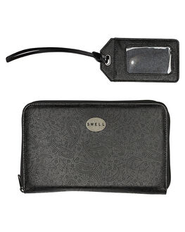 BLACK OUTLET WOMENS SWELL PURSES + WALLETS - S81731581BLK