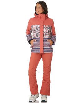 DUSTY CEDAR EDIT GEO BOARDSPORTS SNOW ROXY WOMENS - ERJTJ03176MMR2