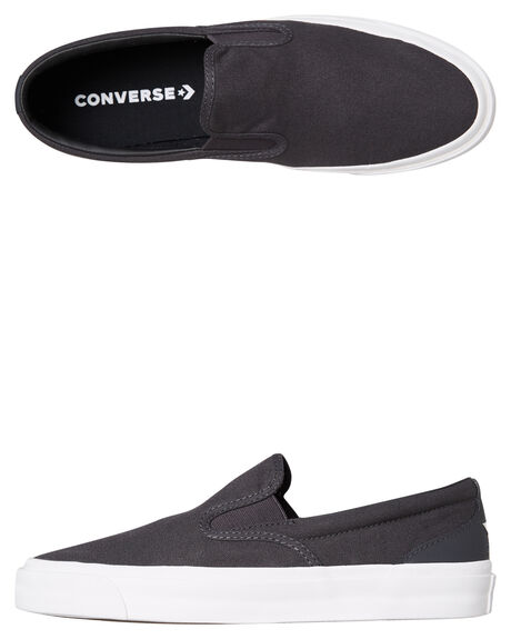 ALMOST BLACK MENS FOOTWEAR CONVERSE SLIP ONS - SS163372ABLKM 98dc7a6cf