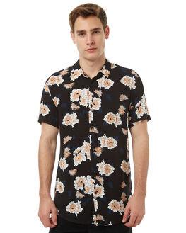 BLACK MENS CLOTHING VONZIPPER SHIRTS - 3971230BLK