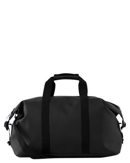 BLACK MENS ACCESSORIES RAINS BAGS + BACKPACKS - RNS1320BLK