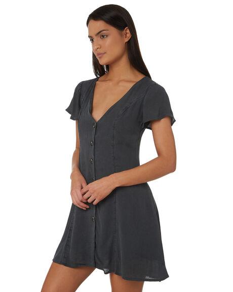 BLACK WOMENS CLOTHING BILLABONG DRESSES - 6581485BLK