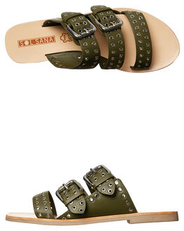 OLIVE WOMENS FOOTWEAR SOL SANA FASHION SANDALS - SS172S395OLIVE
