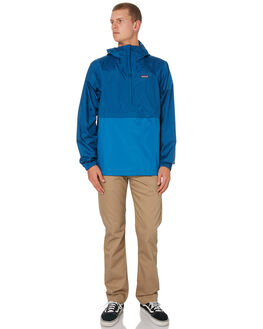 BIG SUR BLUE MENS CLOTHING PATAGONIA JACKETS - 83932BSRB