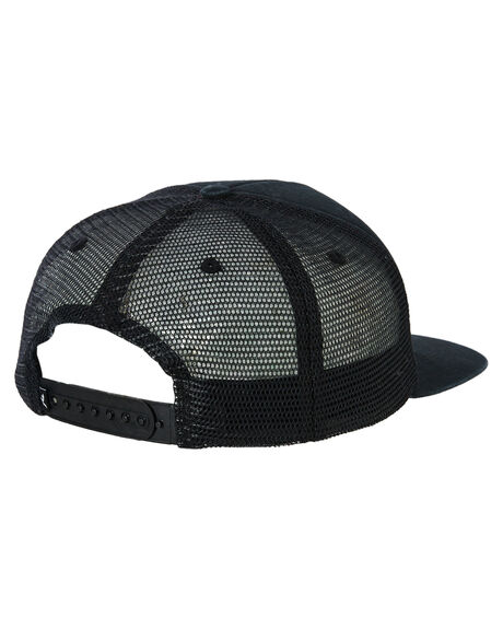 BLACK MENS ACCESSORIES RUSTY HEADWEAR - HCM0966BLK