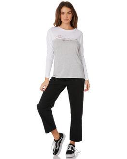 WHITE WOMENS CLOTHING ELWOOD TEES - W91122WHI