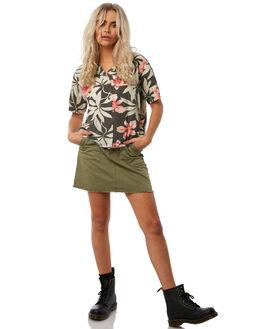 YARDAGE WOMENS CLOTHING THRILLS FASHION TOPS - WTH8-202BZYRD