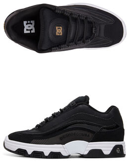BLACK/GOLD WOMENS FOOTWEAR DC SHOES SNEAKERS - ADJS100129-BG3