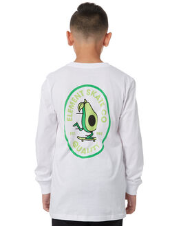OPTIC WHITE KIDS BOYS ELEMENT TOPS - 383052OPWHT