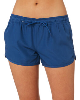 DARK BLUE WOMENS CLOTHING RIP CURL SHORTS - GBOEJ13155