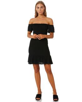 BLACK WOMENS CLOTHING MLM LABEL DRESSES - MLM606BBLK