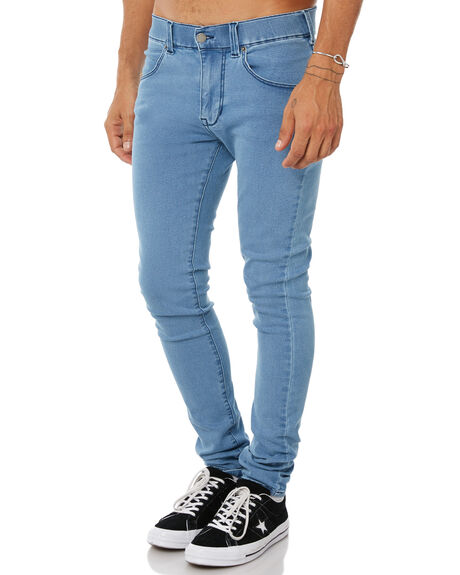PURE LIGHT BLUE MENS CLOTHING DR DENIM JEANS - 1610109-H14